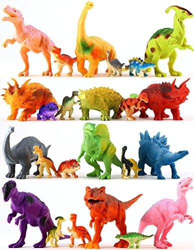 24 Jurassic Dinosaur Toys For 3 4 5 6 7 Year Old Boys Girls Toddlers Kids